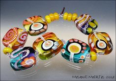 Kye by melaniemoertel, via Flickr   Would love to have this bracelet or any by this artist.