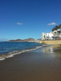 Playa De Las Alcaravaneras en Las Palmas de Gran Canaria, Canarias