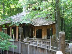 Mt Airy Forest treehouse. 365 things to do in Cincinnati