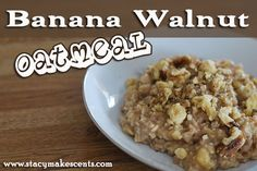 As we continue on with Cooking Through Stacy's Stash, we come to another eBook in my collection. I'm trying to tackle one eBook per month – first we saw 20 Minute Meals and then Easy Homemade. And this week we're talking oatmeal…why? Well, because I have a love for all types of oatmeal, whether it …