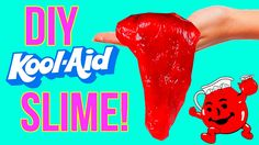 Edible slime recipe pinterest kool aid slime and water in todays video im showing you how to make diy slime this is slime you can eat this edible kool aid slime is super easy and fun to make ccuart Images