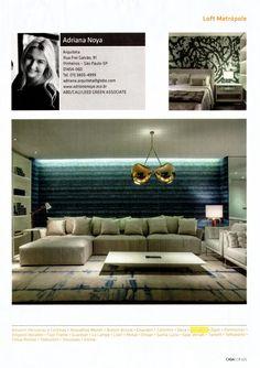 Casa Cor 2014. Ambientaçao de Adriana Noya