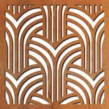Laser cut wood-Gatsby Arches Mais