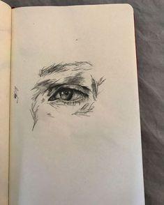 30 ideas for eye sketch sketchbook ideas Art Drawings Sketches, Cool Drawings, Pencil Drawings, Arte Indie, Frida Art, Japon Illustration, Arte Sketchbook, Sketchbook Ideas, Art Hoe