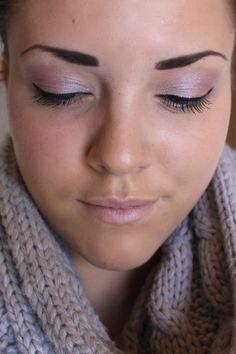 soft pink eyeshadow