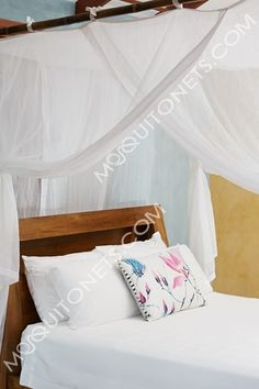 Mosquito Net | Queen Size | Box Shape | Queen Bed net and Canopy Four Poster Bed Frame, Mosquito Net Bed, Canopy Bed Curtains, Bed Net, Glass Barn Doors, Home Organisation, Bedroom Accessories, Queen Size Bedding, Cotton Bedding