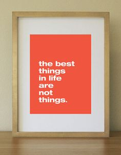 Insprational Quote. Orange and White. Home Decor. Home Office. 8 x 10. Wall Art. via Etsy