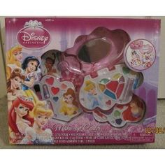 Amazon.com: Disney Princess Make-Up Center (Featuring Various Princesses Including Ariel, Snow White, Sleeping Beauty, Cinderella, Belle, Tiana, and Rapunzel): Toys & Games