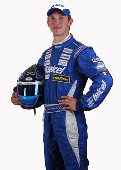 Daniel Suárez  piloto del Auto 3 Telcel
