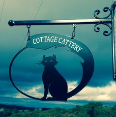 Just in time for Halloween a black cat. Cut from 5mm thick steel plate for a cattery in Cheshire.