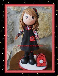 La Marquesa del Puerto Fairy Dolls, Biscuit, Foam Crafts, Diy Crafts, Handmade Crafts, Fondant Figures Tutorial, Clothespin Dolls, Pasta Flexible, Clay Dolls