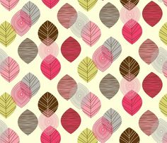 Linear Leaves by amel24