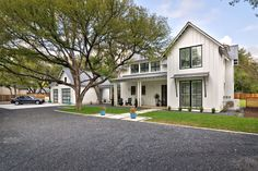 Modern Farmhouse by Tim Brown in TX. See more at link.