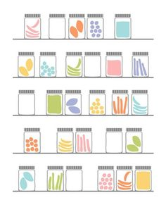 Pack your snacks in glass.  Skip all plastic containers. Tips for an Earth Friendly Lifestyle.