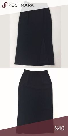 "Adrianna Papell Evening skirt •	Waist: 27  •	Skirt Length: 36  Hip: 40  15.25"" slit over the left leg.  Fabric isn't listed, but it feels like polyester. Size is estimated, so please check measurements.   Item #1537 Adrianna Papell Skirts Maxi"