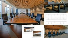 maple veneered boardroom table