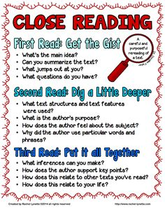 Let's Talk About Books Linky- Falling in Love with Close Reading!
