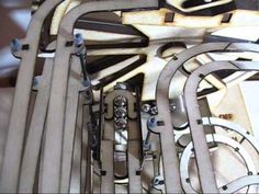 Marble Machine No. Marble Runs, Marble Machine, Kinetic Art, Automata, Elevator, Bricks, Kit, Toys, Youtube