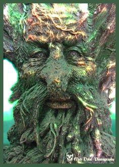 The Green Man wood spirit