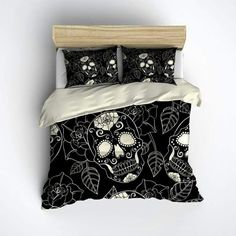 Sugar Skull Bed Spread