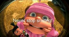 Smiling:)