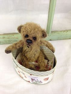 Buddy By Bonnie Foster & Charlie Bears 2016 Attic Collection Mothball | Teddy bears ...
