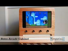 retro arcade cabinet create your free maker profile simplecove