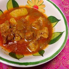 スリランカ人の彼が作ってくれたポークカレー♥️おいしすぎ。 - 12件のもぐもぐ - sri lanka Pork Curry スリランカ人のポークカレー♥️ by natsumifs