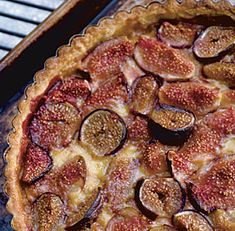 Fresh Fig Tart - or really anything with figs - but this especially would go well with Zinfandel. (great recipe too)