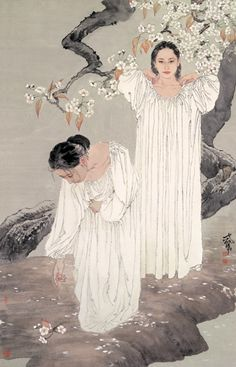 Born in 1957, He Jiaying entered the Tianjin Institute of Arts to study traditional Chinese painting when he was 20. After graduating he sta...