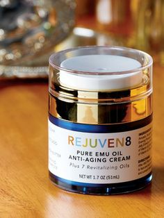 Emu oil face cream for mature and sun-damaged skin helps support healthy skin . Anti-aging facial lotion penetrates the skin to restore, renew and protect skin. Facial Lotion, Sun Damaged Skin, Emu Oil, Anti Aging Facial, Videos Funny, Candle Jars, Moisturizer, Pure Products