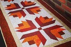 Resultado de imagem para caminhos de mesa em patchwork