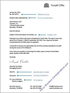Personal Business Letter Format  Sample Business Letter Modified