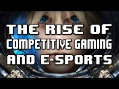 The Rise of Competitive Gaming & E-Sports.. Like it? #taymai?