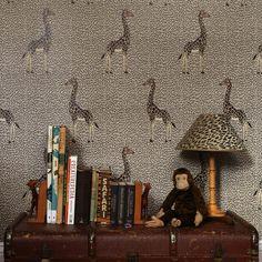KALEIDOSCOPE Wallpaper Taupe