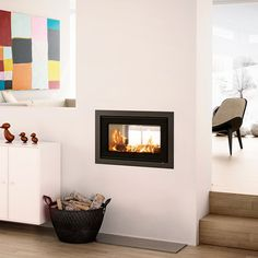 Rais Stove is a gorgeous, double sided stove insert, with a contemporary design. THe Rais Double Sided Stove is DEFRA approved. BMF Store offer a range of Rais wood burning stoves & fires, with free UK delivery & finance options. Fireplace Grate, Ethanol Fireplace, Double Sided Fireplace, Fireplace Inserts, Fireplace Design, Fireplace Ideas, Double Sided Stove, Fireplaces Uk, Inset Stoves