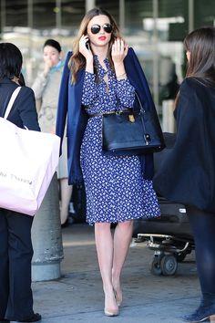 Miranda Kerr Street Style  - HarpersBAZAAR.co.uk