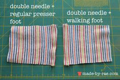 Tutorial: Hemming knits without creating waves and puckers
