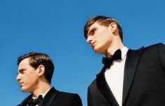 Spring summer 2014 edition of GQ Style magazine features models Alex Dunstan and Alexander Beck in a session styling by Manuela Hainz and shot by Bruna Kazinoti. Dazed And Confused, Gq Style, Editorial, Germany, Spring Summer, Model, Tuxedos, Fashion, Moda