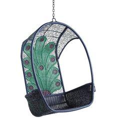 Pier 1 Swingasan® Chair - Peacock