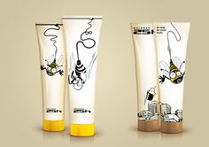 "Honey ""from the roof"" - package design Best Before by Best Before , via Behance PD"