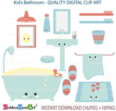 A Personal Favorite From My Etsy Shop Kid BathroomsDigital
