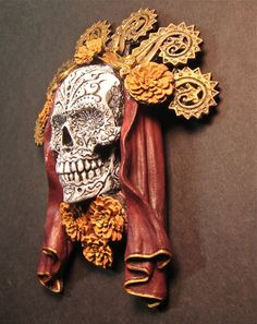 Dia de los Muertos Painted by Dellamorteco on Etsy