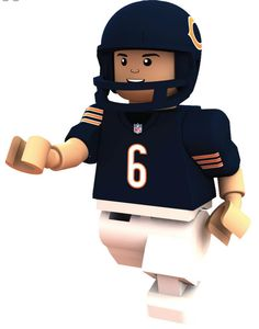 #6 Jay Cutler Chicago Bears Quarterback Limited Edition OYO minifigure