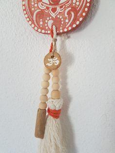 20210721_175254 Terracotta, Symbole Protection, Plexus Solaire, Fortune, Les Religions, Hamsa, Tassel Necklace, Drop Earrings, Boutique
