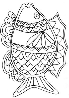 Nice Coloriage Poisson D Avril that you must know, Youre in good company if you?re looking for Coloriage Poisson D Avril Summer Coloring Pages, Coloring Book Pages, Coloring Sheets, Stained Glass Patterns, Mosaic Patterns, Mandalas Drawing, Tropical Art, Fish Art, Line Drawing