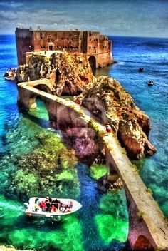 Fort de Saint John the Baptist, Berlenga Island, Portugal.