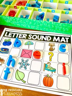 Beginning Sounds Activities, Games, and Centers for Kindergarten