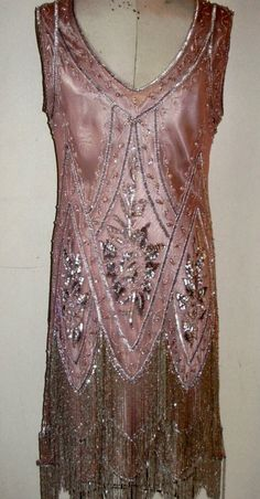 Beaded 1920's Sheath