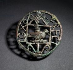 Brooch with Tenth Legion insignia (bronze), Roman, (1st century AD) / The Israel Museum, Jerusalem, Israel / Gift of Jack and Jane Weprin / The Bridgeman Art Library